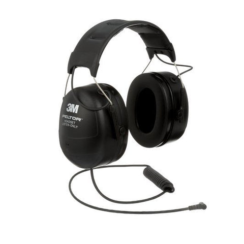 3M™ Peltor™ Listen-Only Headset (Mono) - Neck Band - Behind the Head