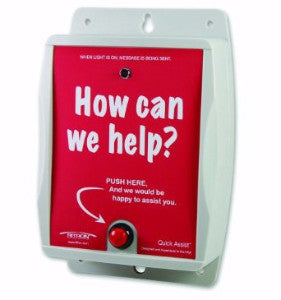 Ritron Quick Assist ® Wireless Shopper Callbox - Freeway Communications - Canada's Wireless Communications Specialists