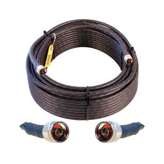 Cable 100' LMR400 eqiv. ultra low loss cable (N male - N male ends) - Freeway Communications - Canada's Wireless Communications Specialists