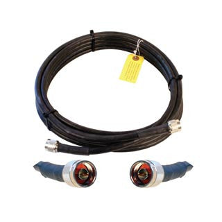 Cable 20' LMR400 eqiv. ultra low loss cable (N male - N male ends) - Freeway Communications - Canada's Wireless Communications Specialists