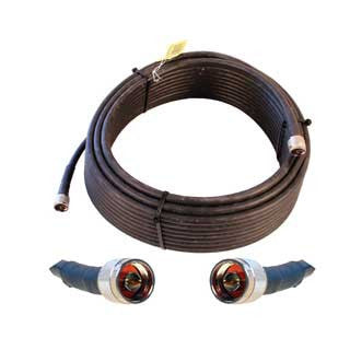 Cable 50' LMR400 eqiv. ultra low loss cable (N male - N male ends) - Freeway Communications - Canada's Wireless Communications Specialists