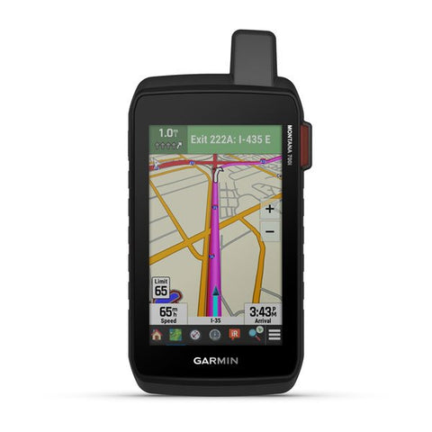 Garmin Montana® 750i Rugged GPS Touchscreen Navigator with inReach® Technology and 8 Megapixel Camera