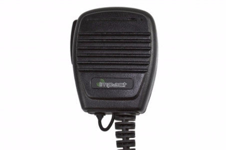 Gold Series Medium Duty Remote Speaker Mic with 3.5mm accessory jac - Freeway Communications - Canada's Wireless Communications Specialists