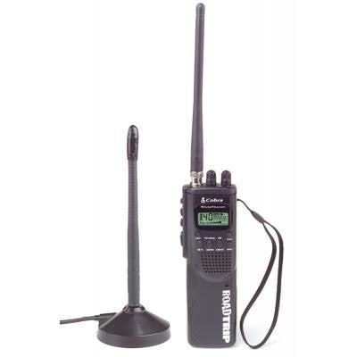 Cobra HH ROAD TRIPHand Held 40 Channel CB Radio with Mobile Antenna, - Freeway Communications - Canada's Wireless Communications Specialists