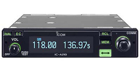 iCom A210 VHF Air band transceiver - Freeway Communications - Canada's Wireless Communications Specialists
