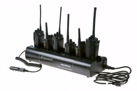Universal Rapid Six Bank Charger - Freeway Communications - Canada's Wireless Communications Specialists - 1