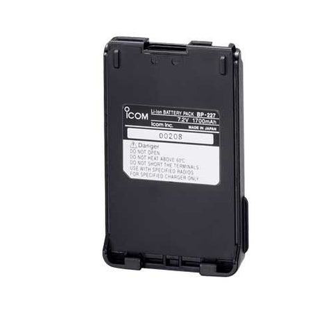 BP-227 Li-ion Battery Pack - Freeway Communications - Canada's Wireless Communications Specialists