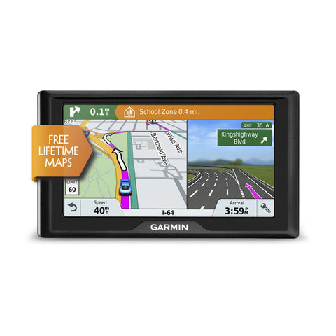 Garmin Drive™ 61 LM -Entry-level GPS navigator with driver alerts