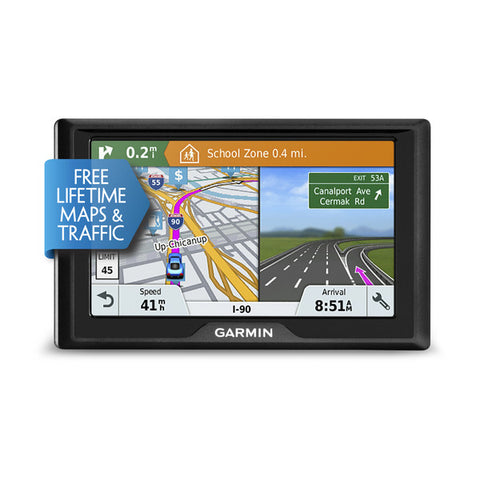 Garmin Drive™ 51 LMT-S -Entry-level GPS navigator with Live Traffic