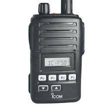 Icom F50V - VHF Handheld - Freeway Communications - Canada's Wireless Communications Specialists