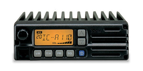 iCom A110 VHF Air band transceiver - Freeway Communications - Canada's Wireless Communications Specialists