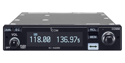 iCom A220 VHF Air band transceiver