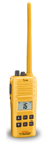 IC-GM1600 Handheld marine transceiver - 	The GMDSS handheld for survival craft