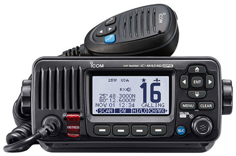 icom IC-M424 Fixed mount VHF marine transceiver - Freeway Communications - Canada's Wireless Communications Specialists