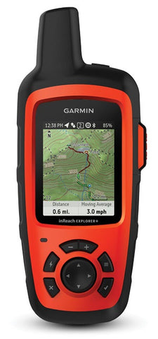 Garmin inReach Explorer+ Satellite Communicator with Maps & GPS Navigation