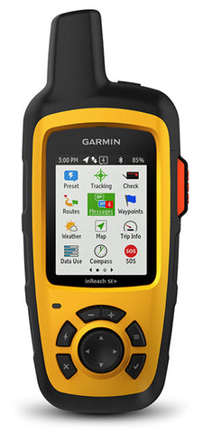 Garmin inReach SE+ Satellite Communicator with GPS Navigation