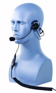 Behind the head single muff headset with background noise canceling mic - Freeway Communications - Canada's Wireless Communications Specialists