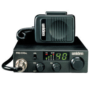 Uniden PRO510XL 40 Channel Compact Mobile CB Radio - Freeway Communications - Canada's Wireless Communications Specialists