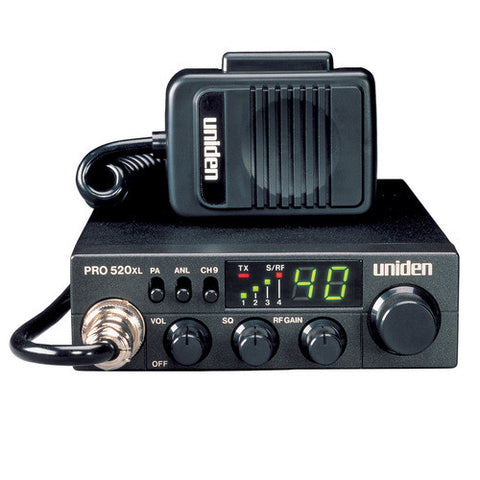Uniden PRO520XL Compact Professional Mobile CB Radio - Freeway Communications - Canada's Wireless Communications Specialists