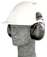 3M™ Peltor™ Listen-Only Headset (Mono) - Hard Hat attachment