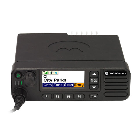 Motorola TRBO XPR5550 - VHF or UHF DIGITAL Mobile - Freeway Communications - Canada's Wireless Communications Specialists