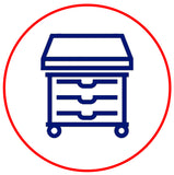Preventing the Spread of  Infectious Disease - Isolation Cart