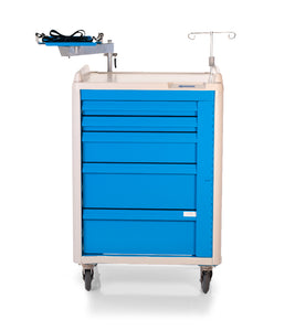 "30"" 5-DRAWER EMERGENCY CRASH CART - buytalon"