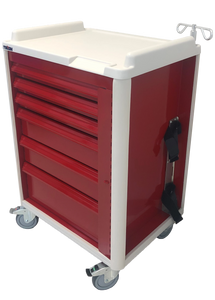 "30"" 6-DRAWER EMERGENCY CRASH CART - buytalon"