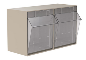 AKRO-MILS TILTVIEW STORAGE BINS - buytalon
