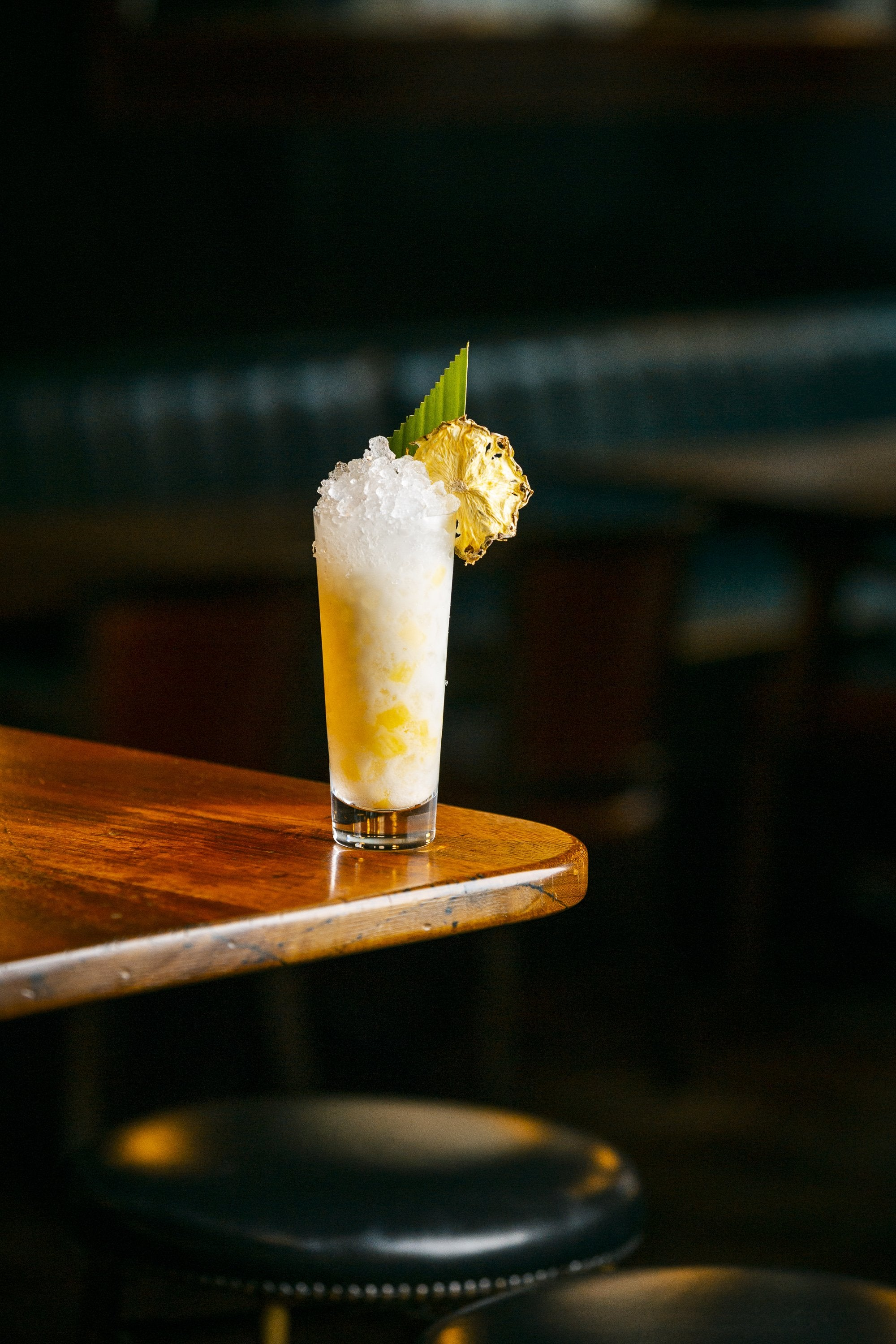 Pineapple and Coconut Collins