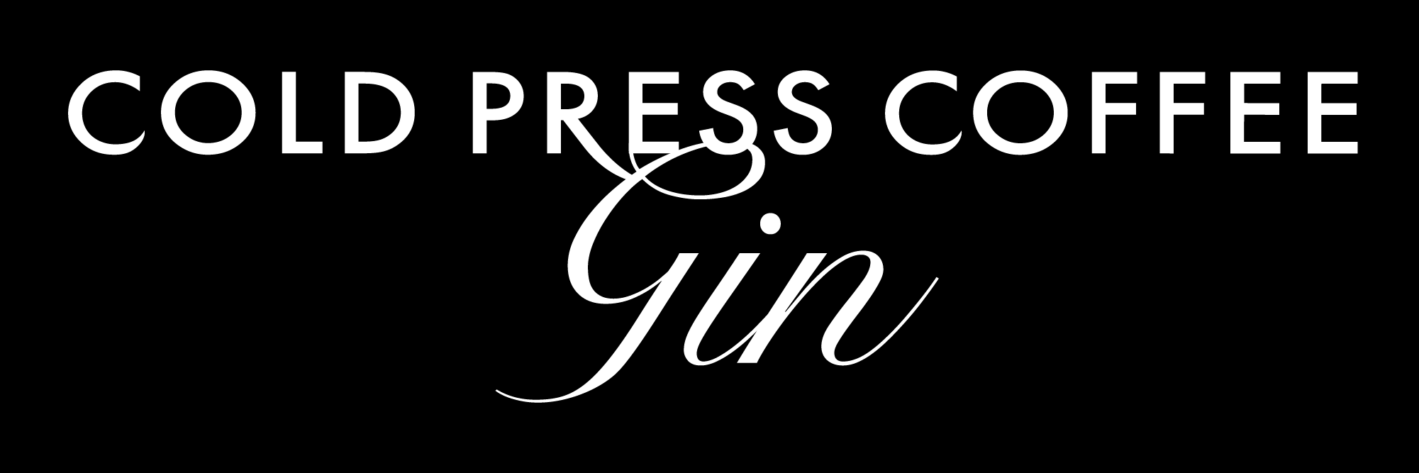 Cold Press Coffee Gin