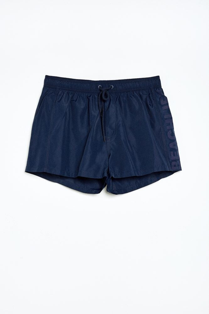 Short de bain uni slim-fit Sfera