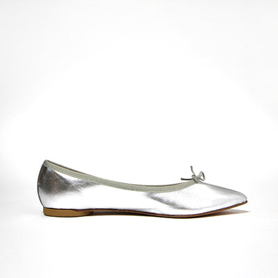 Ballerines pointues cuir - Brigitte