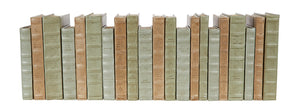 21 Vol. Decorative Book Set - Tonal Leather Mix (VH-LT1-21)