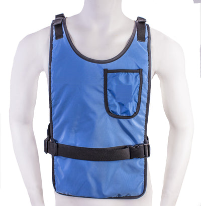 Essential Cooling Vest (Royal Blue) - Space Ice Therapy
