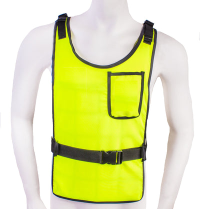 Essential Cooling Vest (Hi Vis Yellow) - Space Ice Therapy