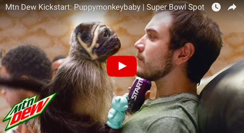 Mountain Dew's Puppymonkeybaby Ad Kills It!! [FUNNY VIDEO]