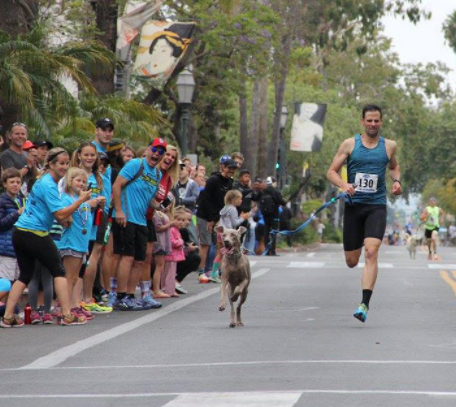 Man & Dog Break World Record For Fastest Mile