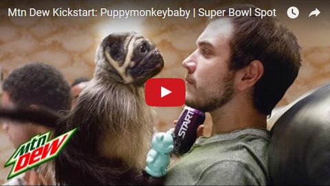 mountain dew puppymonkeybaby commercial super bowl commercials funny commercials sportleash