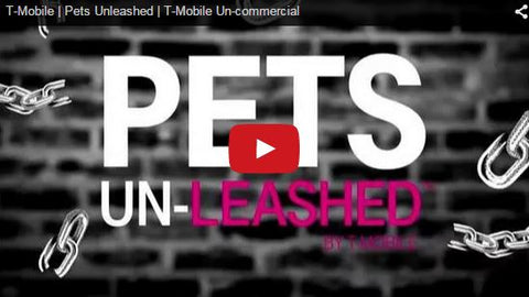 t-mobile pets unleashed plan commercial promo