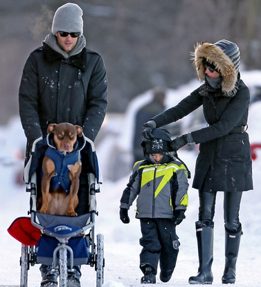 tom brady gisele bundchen dog and family
