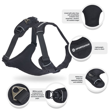 SportHarness - Dog Harness & Car Seat Harness