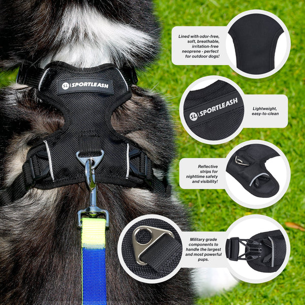 SportLeash Best Dog Harness Big Dog Harness SportHarness