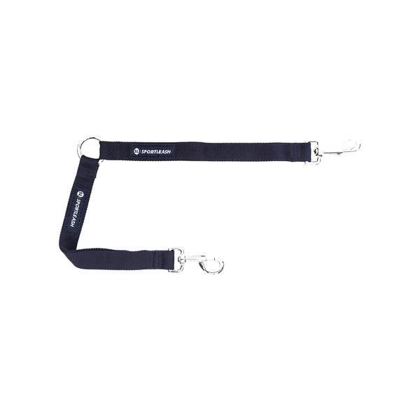 Dog Leash Coupler Splitter - Black SportLeash