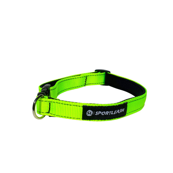 Neon Yellow Neoprene Dog Collar