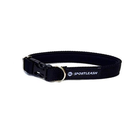 Black Neoprene Dog Collar