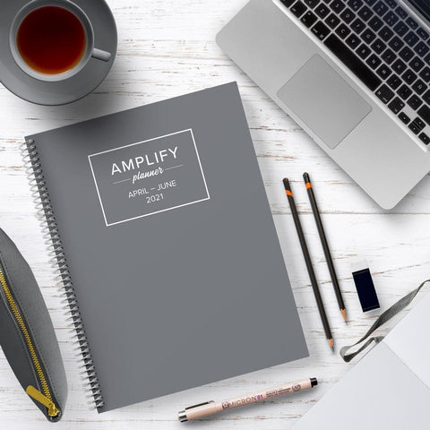 charcoal q2 amplify planner