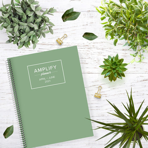 leaf green q2 amplify planner