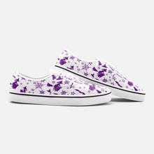Load image into Gallery viewer, White Purple Witch Halloween Sneakers