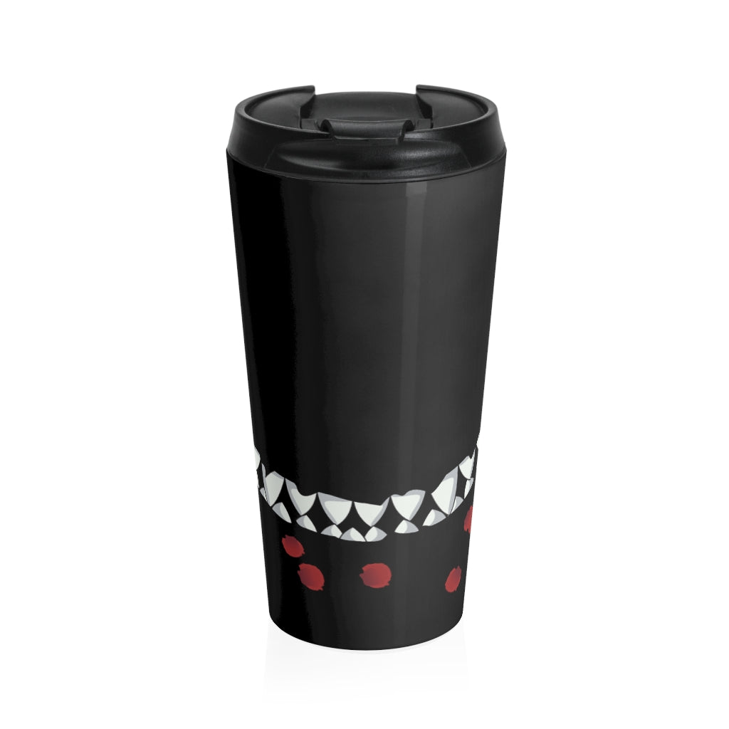 Toothy Grin Stainless Steel Travel Mug